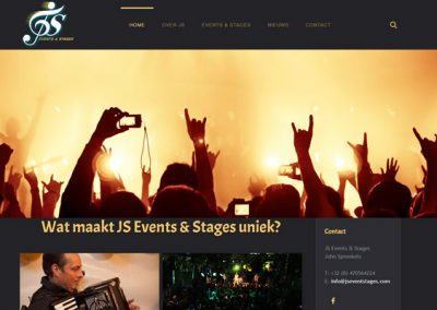 JS Events & Stages