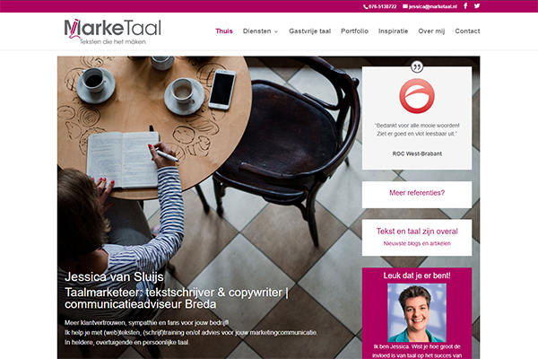 Nieuwe website voor MarkeTaal