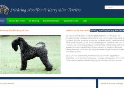 Stichting Noodfonds Kerry Blue Terriërs