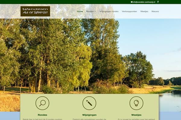 Site voor Wandelen Aa of Weerijs in de lucht