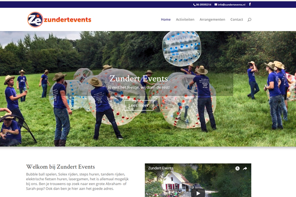 Zundert Events heeft nu eigen website