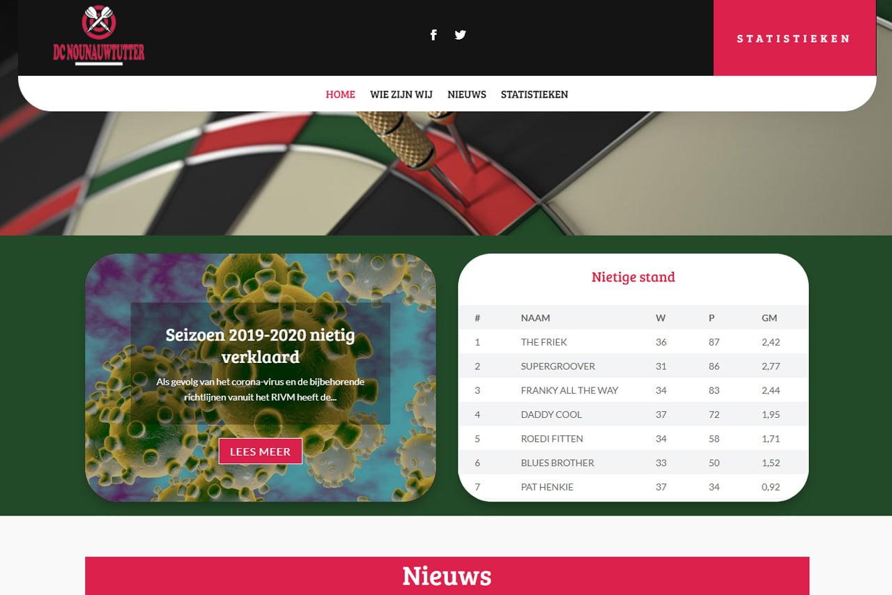 Nounauwtutter nieuwe website in coronatijd