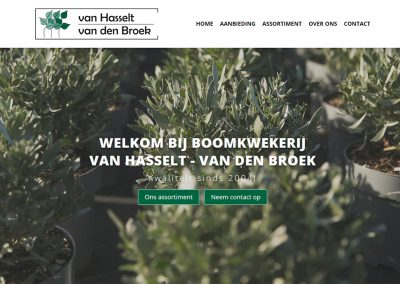 Boomkwekerij Van Hasselt-Van den Broek